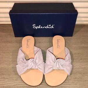 Suede SPLENDID Brianna Slide Sandals - size 9